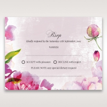 Enchanting Forest 3D Pocket rsvp wedding card design