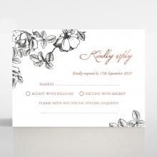 English Rose rsvp invite