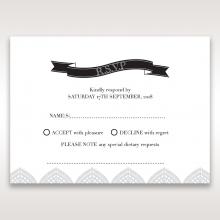 Everly rsvp wedding enclosure card