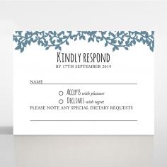 Forest Love wedding rsvp card