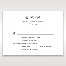 Fragrance rsvp card