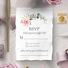 Garden Party rsvp invitation design