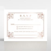 Gatsby Glamour rsvp invitation