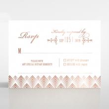 Gradient Glamour rsvp wedding enclosure card