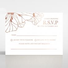 Grand Flora rsvp card design