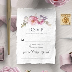 Happily Ever After rsvp invite design