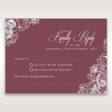 Imperial Glamour without Foil rsvp design