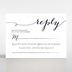 Infinity rsvp card design