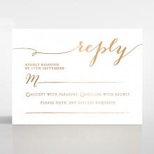 Infinity rsvp wedding enclosure card