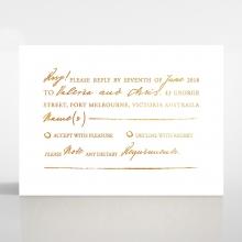 Love Letter rsvp wedding card design