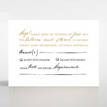 Love Letter wedding rsvp card