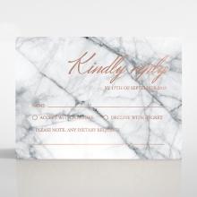 Marble Minimalist rsvp card