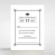Paper Gilded Decadence rsvp design