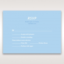 Personalised Love rsvp card design