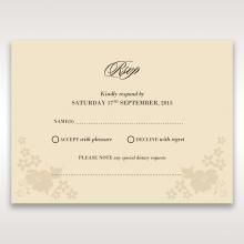 Precious Pearl Pocket rsvp wedding enclosure invite design
