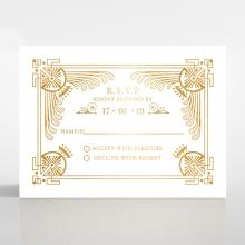 Regal Frame rsvp card design
