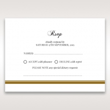 Royal Elegance rsvp card design