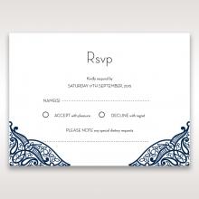 Royal Frame rsvp enclosure card