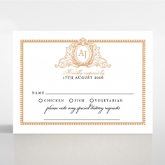 Royal Lace rsvp card design