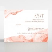 Serenity Marble rsvp card design