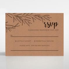 Springtime Love rsvp wedding enclosure card