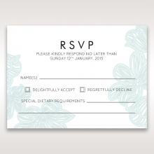 Vibrant Flowers rsvp invite design