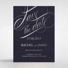 A Polished Affair wedding stationery save the date card item
