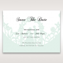 Arch of Love wedding stationery save the date card item