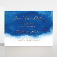 At Twilight  with Foil save the date wedding stationery card item