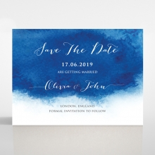 At Twilight wedding save the date stationery card item