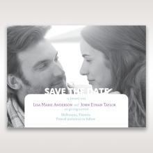 Beautiful Romance save the date stationery card item