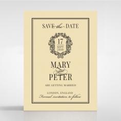 Damask Love wedding save the date card design