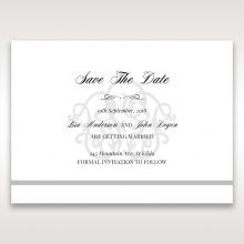 Elegant Seal save the date invitation card design