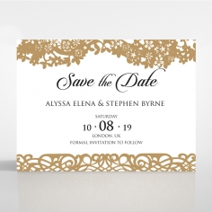 Enchanting Forest save the date invitation stationery card item