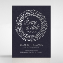 Enchanting Halo wedding save the date stationery card item