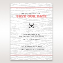 Eternity wedding stationery save the date card design