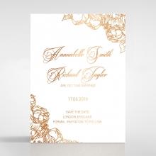 Flourishing Garden Frame save the date invitation stationery card design