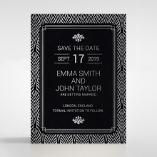 Gilded Decadence save the date stationery card item