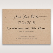 Laser Cut Doily Delight save the date stationery card