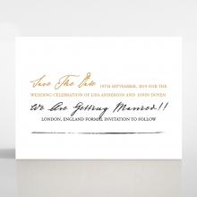 Love Letter save the date wedding stationery card item