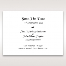 Lovely Lillies save the date stationery card design