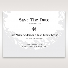 Luscious Forest Laser Cut wedding stationery save the date card design