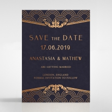Luxe Victorian save the date invitation stationery card item