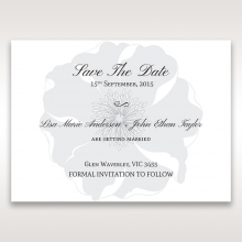 Magical Flower save the date invitation stationery card item