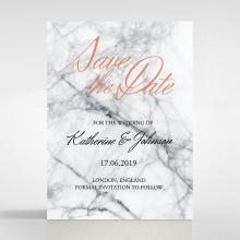 Marble Minimalist save the date invitation stationery card item