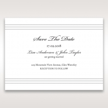 Marital Harmony save the date card design