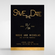 Minimalist Love save the date card