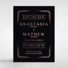Ornate Luxury save the date card design