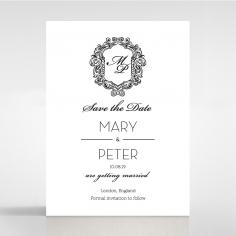 Paper Aristocrat save the date invitation stationery card item