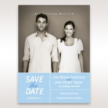 Personalised Love save the date card design